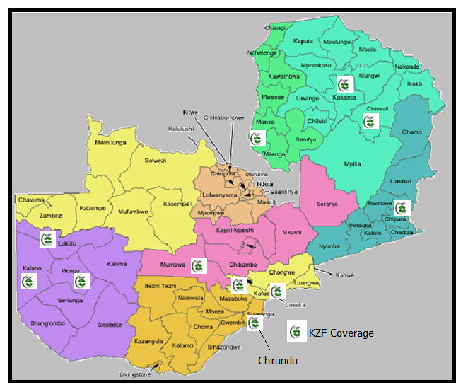 project offices map
